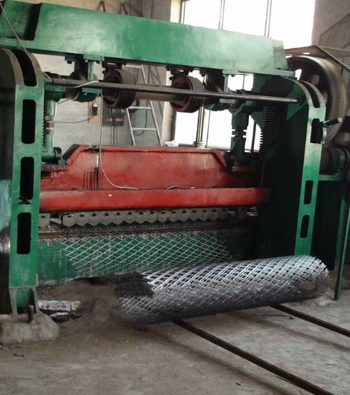 Expanding Machine for Expanded Metal Mesh Production
