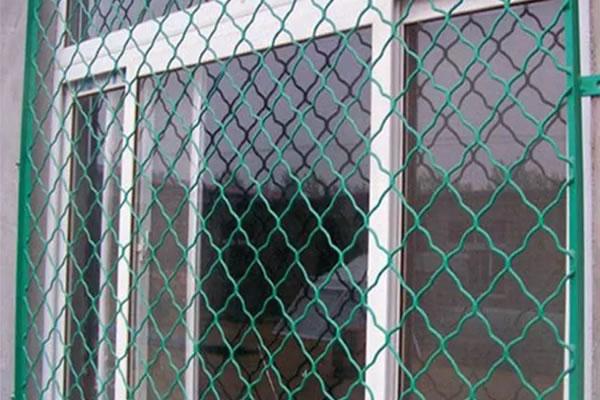Powder coated amplimesh,window security screen